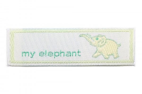 dalipo, Aufnäher, My Elephant
