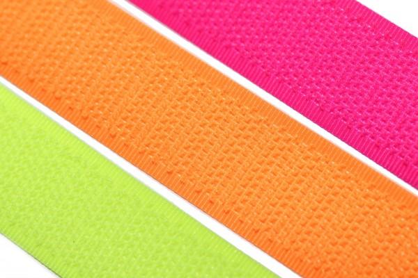dalipo, Klettband nähbar, 20mm, Neonfarben, Haken