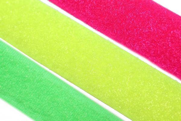 dalipo, Klettband nähbar, 20mm, Neonfarben, Flausch