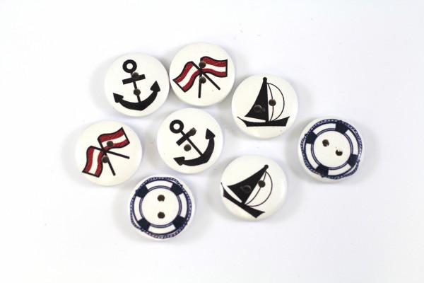 dalipo, Holzknopf, maritim