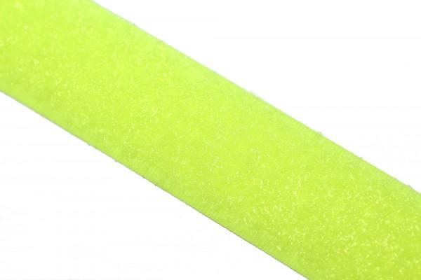 Klettband, nähbar, 20mm, Neonfarben, Flausch