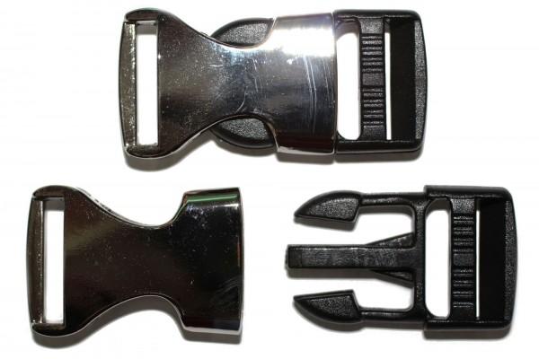 dalipo, Steckschnalle, Metall, 20mm