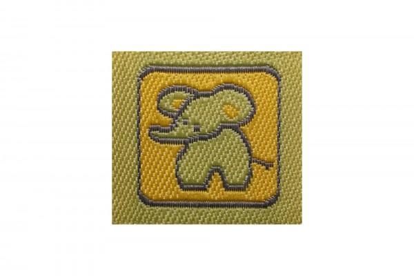 dalipo, Aufnäher, Elefant